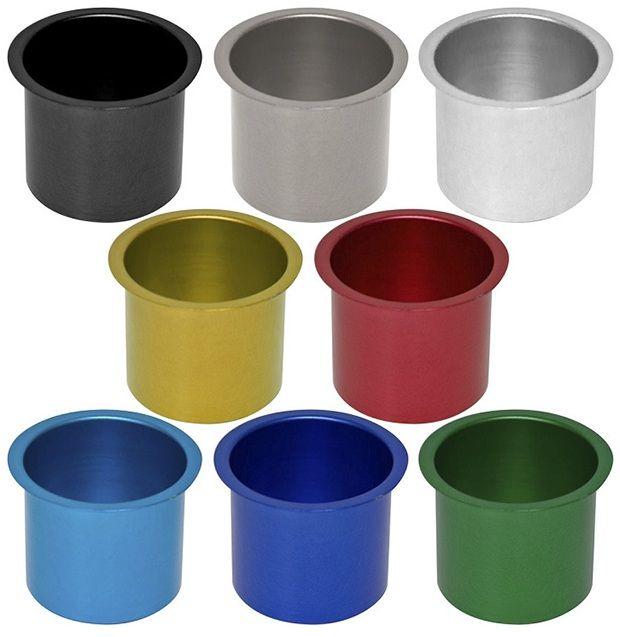 Colored Aluminum Jumbo Drop In Drink Holders