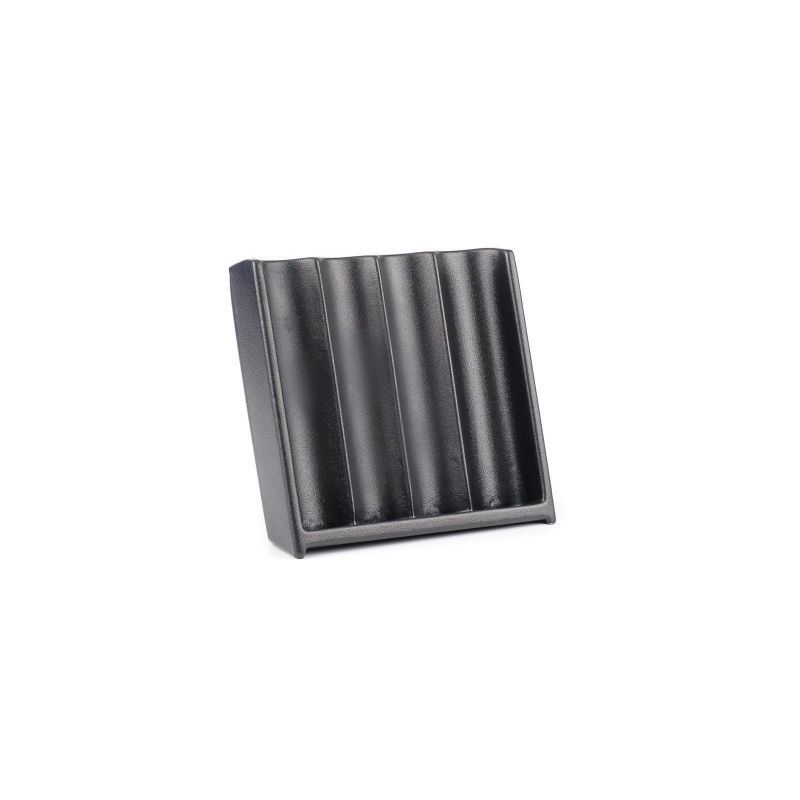 Vertical Abs Black Craps Chip Tray (4 Tube / 200 Chip)