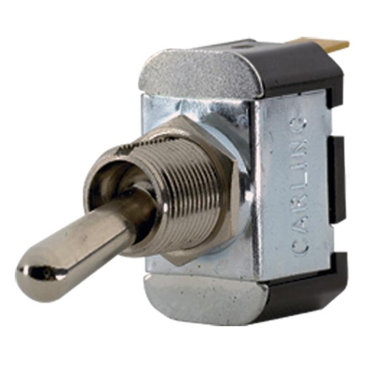 Paneltronics Spst On/off Metal Bat Toggle Switch