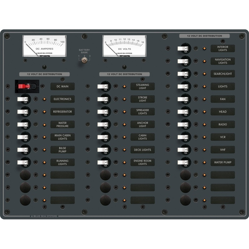 Blue Sea 8382 Dc Main + 35 Positions