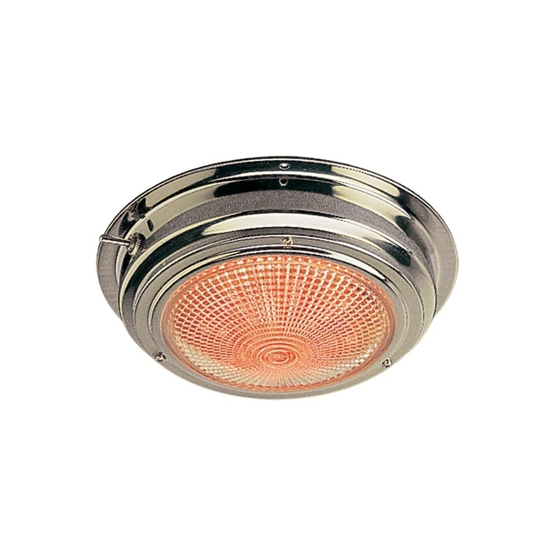 """Sea-dog Stainless Steel Led Day/night Dome Light - 5"""" Lens"""