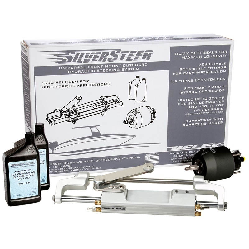 Uflex Silversteer™ Outboard Hydraulic Tilt Steering System - Uc130 V1