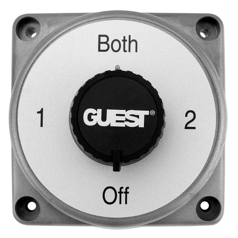 Guest 2300a Diesel Power Battery Selector Switch