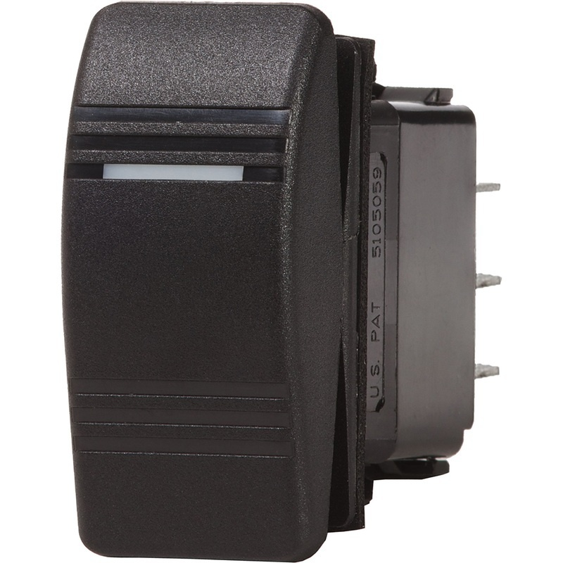 Blue Sea 8282 Water Resistant Contura Iii Switch - Black