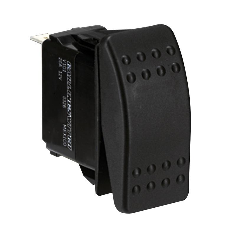 Paneltronics Switch Spdt Black On/off/on Rocker