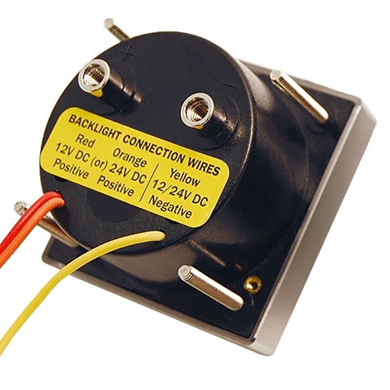 "Blue Sea 8245 Ac Analog Micro Voltmeter - 2"" Face, 0-250 Volts Ac"