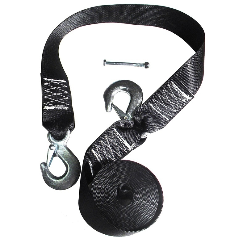 Rod Saver Winch Strap Replacement W/safety Strap - 20'