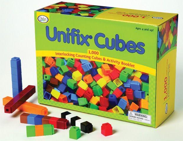 Unifix Cubes, Set Of 1,000