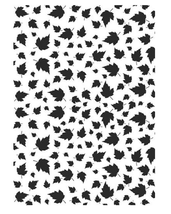 Embossing Folder A4 Size - Leave