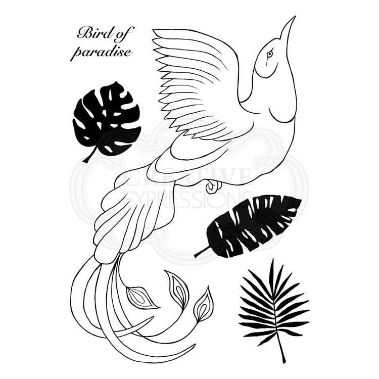 Woodware Clear Singles Paradise Bird