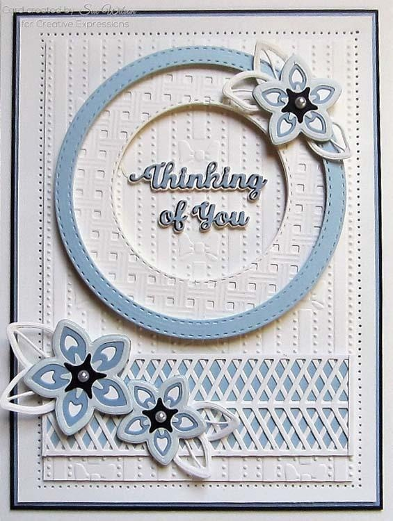 Creative Expressions Dies By Sue Wilson Triple Layer Collection Lillian