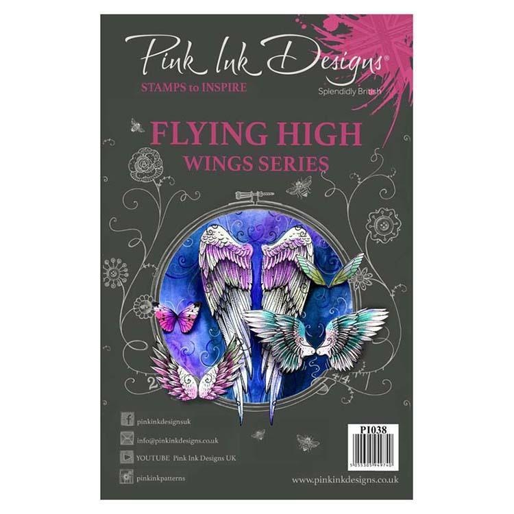Pink Ink Designs Clear Stamp Flying High