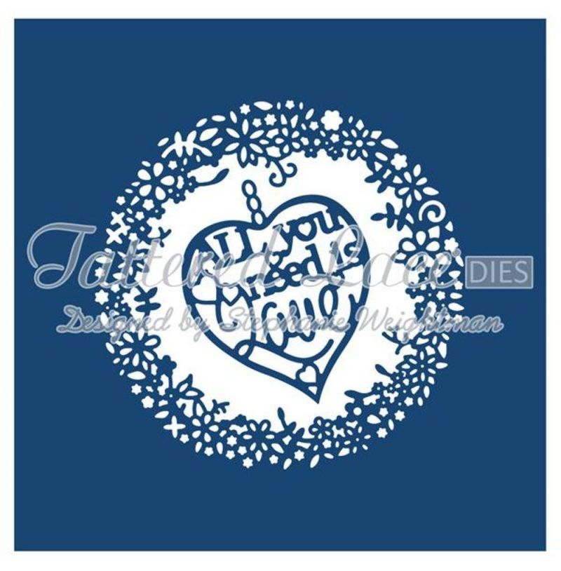 Tattered Lace Die - Love Tapestry