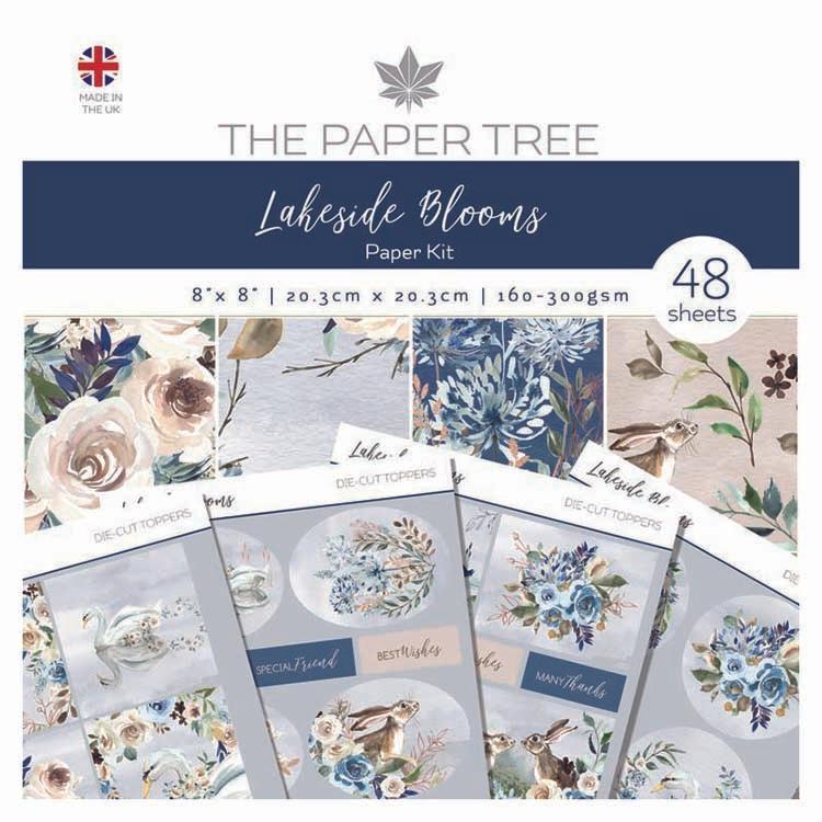 The Paper Tree Lakeside Blooms Paper Kit