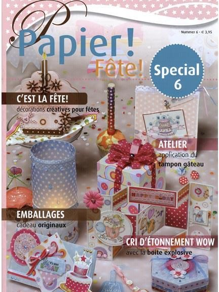 Papier! Magazine #6 - Fete