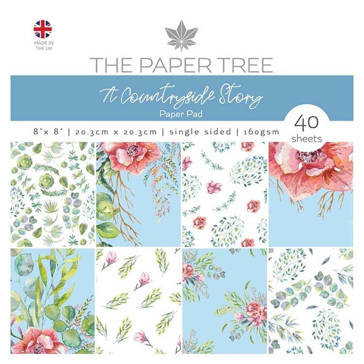 The Paper Tree A Countryside Story 8x8 Paper Pad