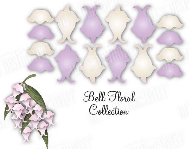 Dimensional Dies - Bell Floral 1