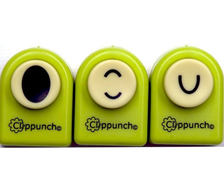 Alphabet Clip Punch