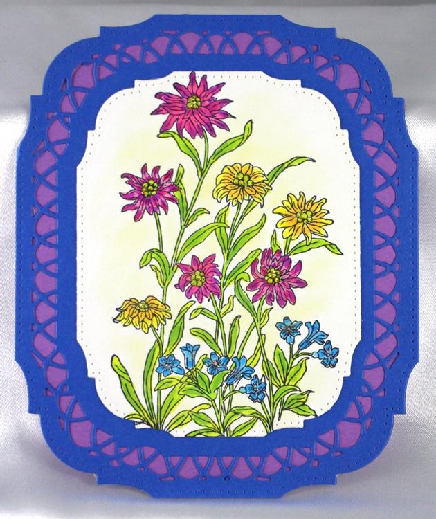 Frog's Whiskers Stamps - Summer Flowers