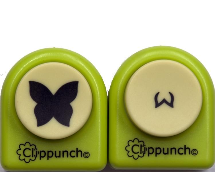 Mega Clip Punch Butterfly