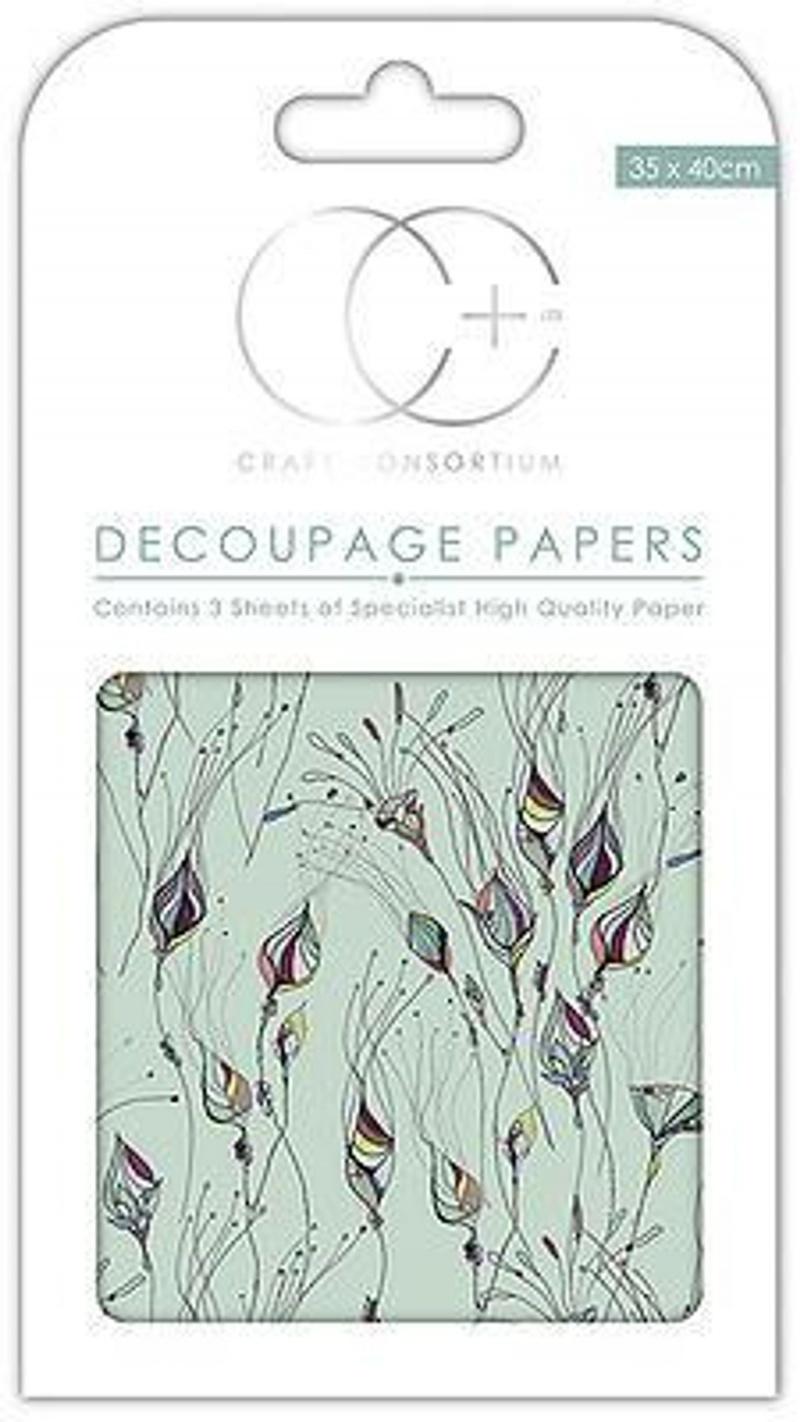 Sun Life Decoupage Papers