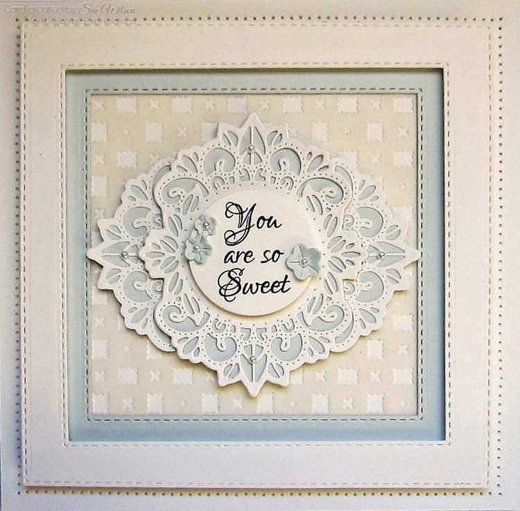 Dies By Sue Wilson Filigree Artistry Collection Diagonal Background