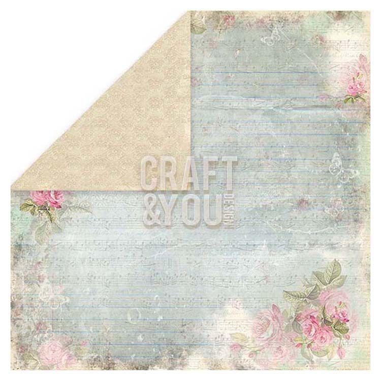 Craft & You Design Wedding Garden 6x6 Paper Pad