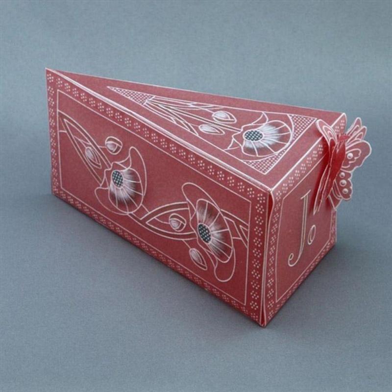 A4 Groovi Box Template - Cake