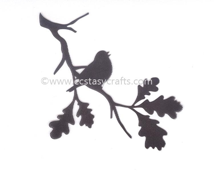 Silhouette Clear Stamp - Birdsong 2