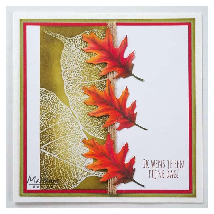 Marianne Design Clear Stamps Tiny's Leaf