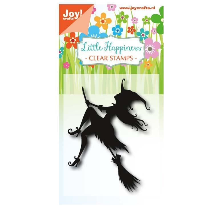 Joy! Crafts Clear Stamp - Halloween Flying Witch