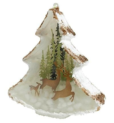 Joy! Crafts Fillable Christmas Tree Ornament