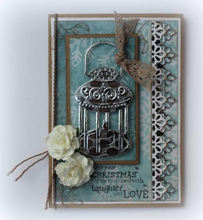Cutting And Embossing Die - Candlestick And Lamp