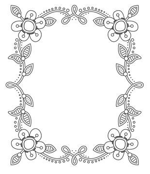 Creative Expressions Stamps - Tessa's Oakham Frame