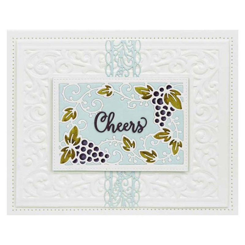Dies By Sue Wilson Frames & Tags Collection Grape Vine Frame