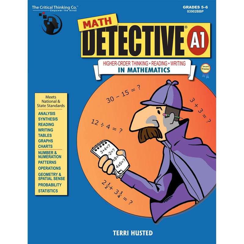 Math Detective A1 Book Gr 5-6
