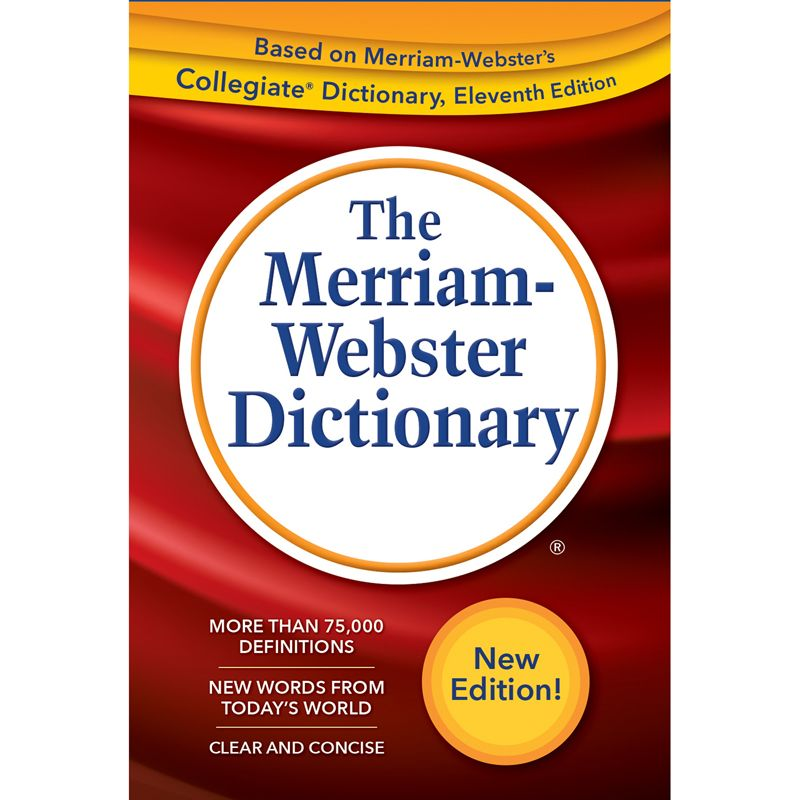 Webster Dictionary Trade Paperback 2019 Copyright
