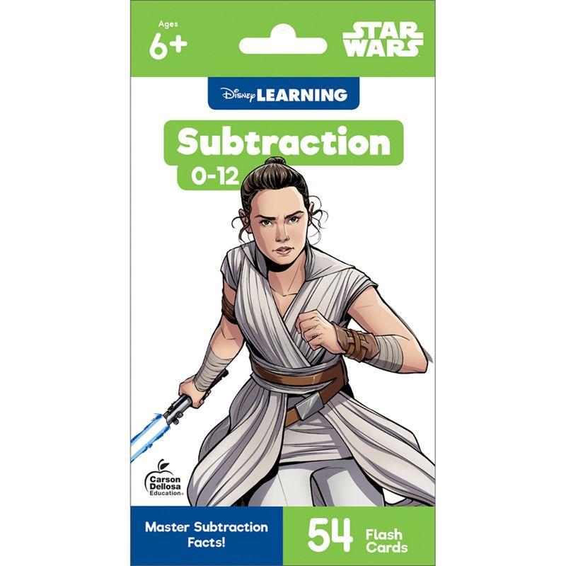 Star Wars Subtraction 0-12 Flash Cards