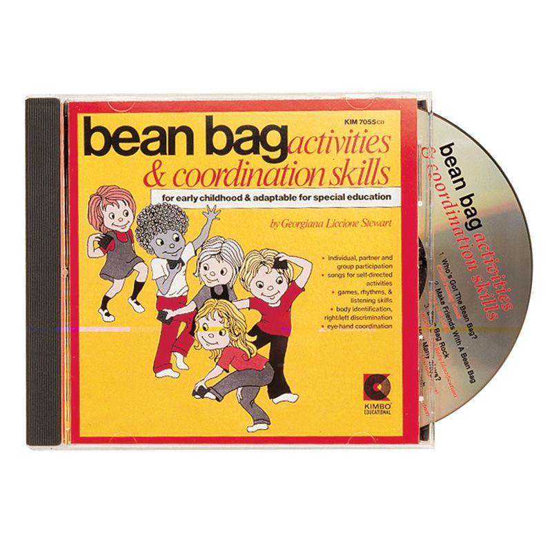 Bean Bag Activities Cd Ages 3-8
