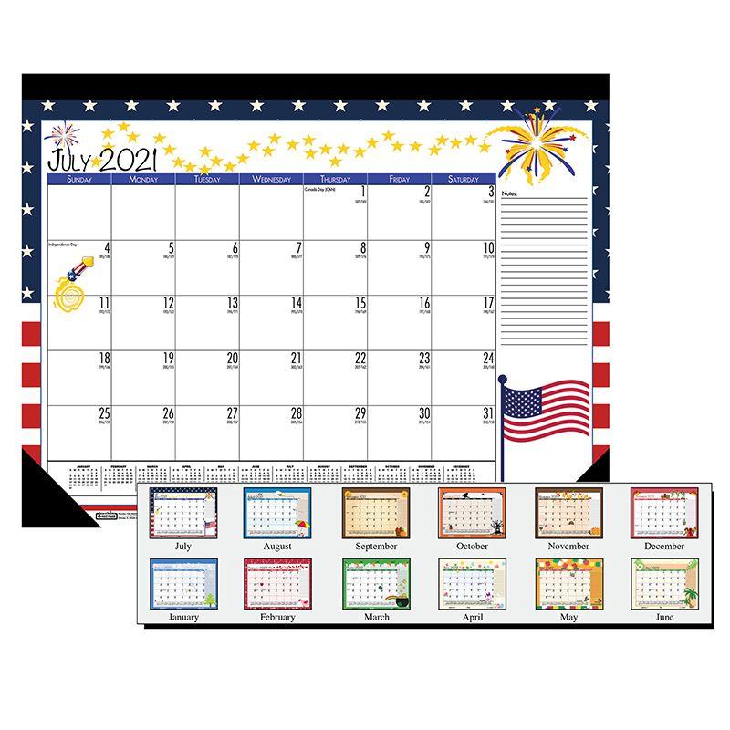 Desk Pad Seasonal 12 Months Jul-jun Academic