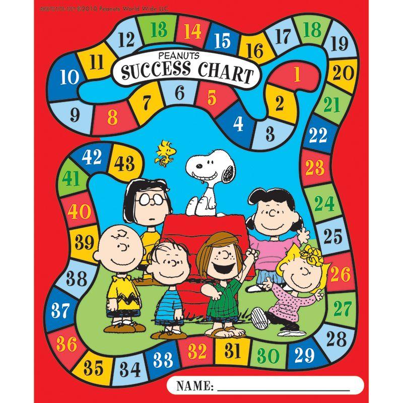 Peanuts Game Mini Reward Charts