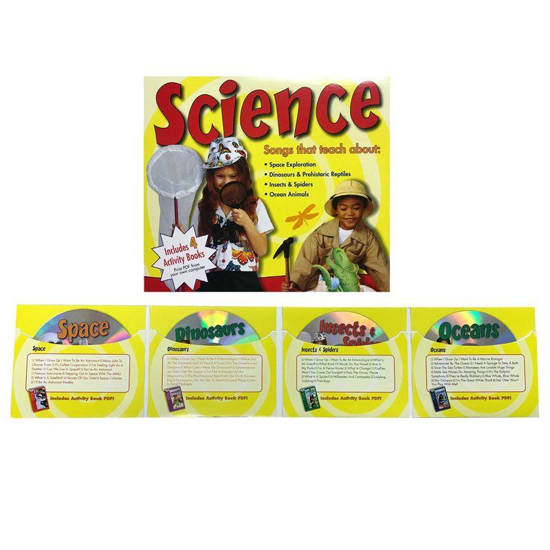 Science Songs 4 Cd Set