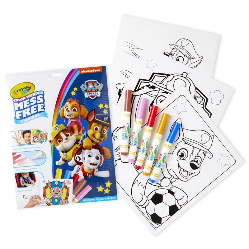 Coloring Pad & Markers Paw Patrol Color Wonder
