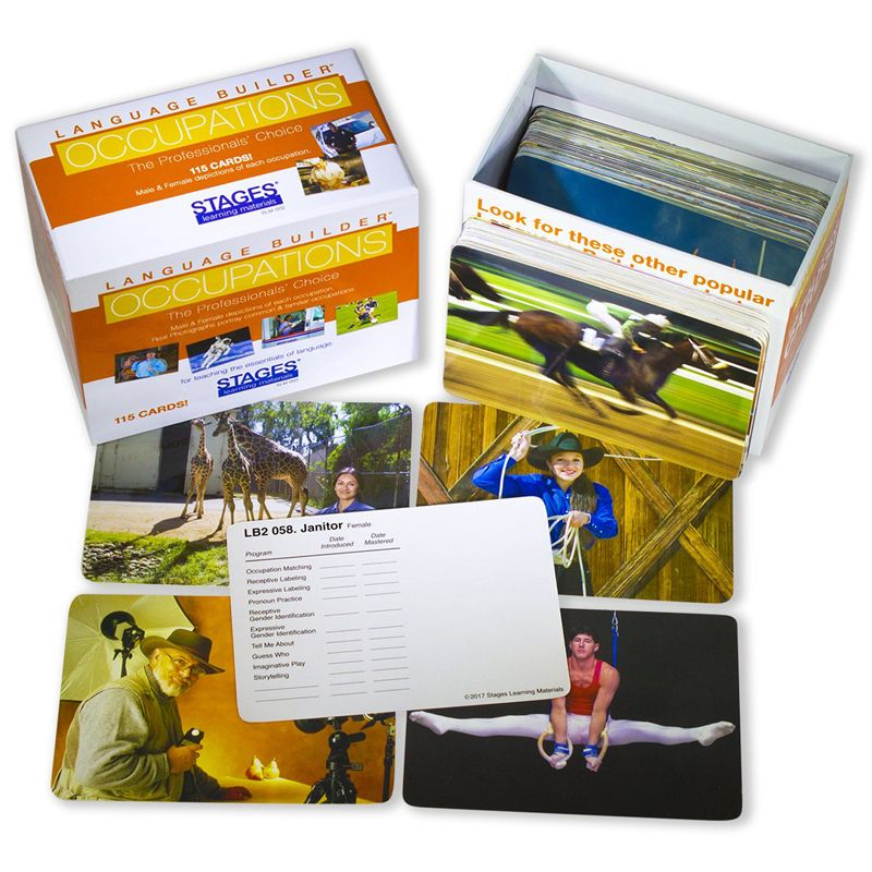 Language Builder Occupation Cards