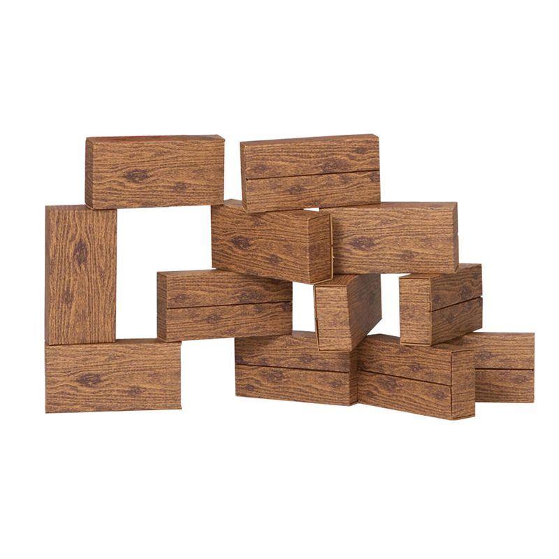 16Pc Giant Timber Blocks