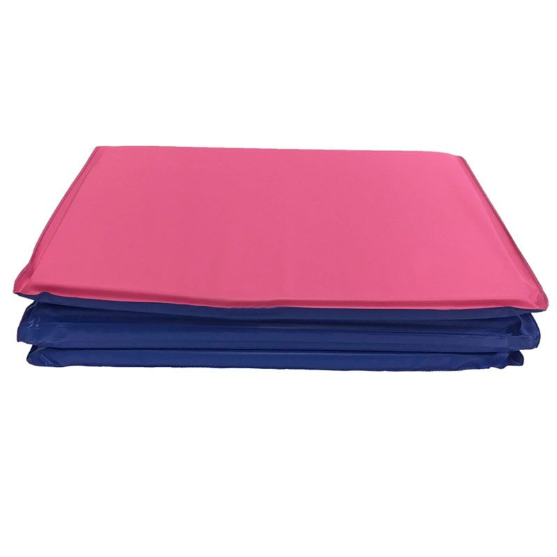 Toddler Kindermat Blue/Pink Without Pillow Section