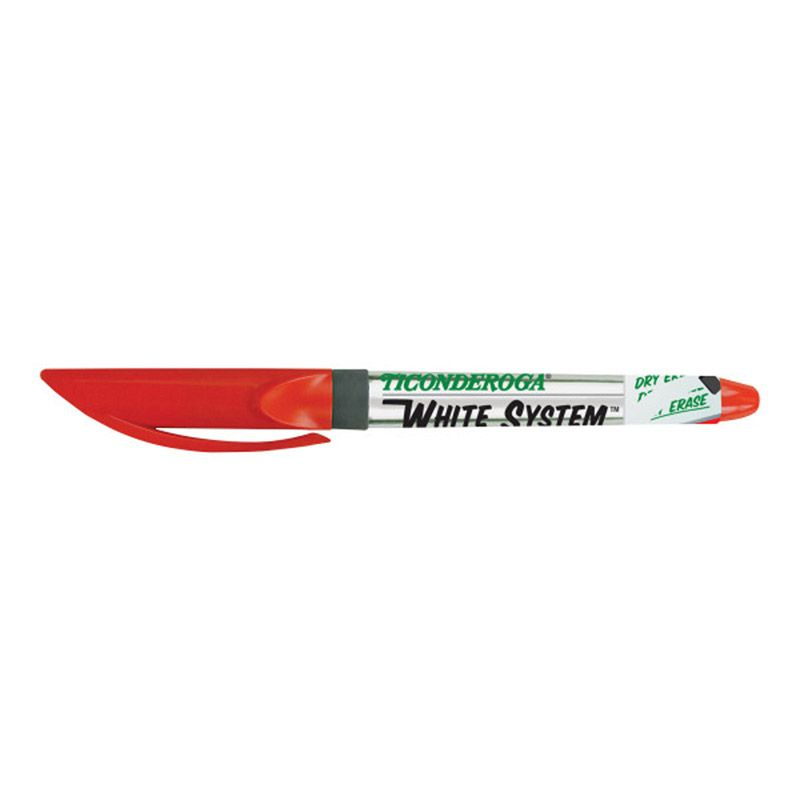 Dry Erase Markers Fine Tip Red 12pk