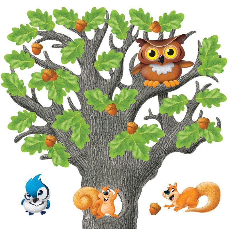 Bb Set Big Oak Tree