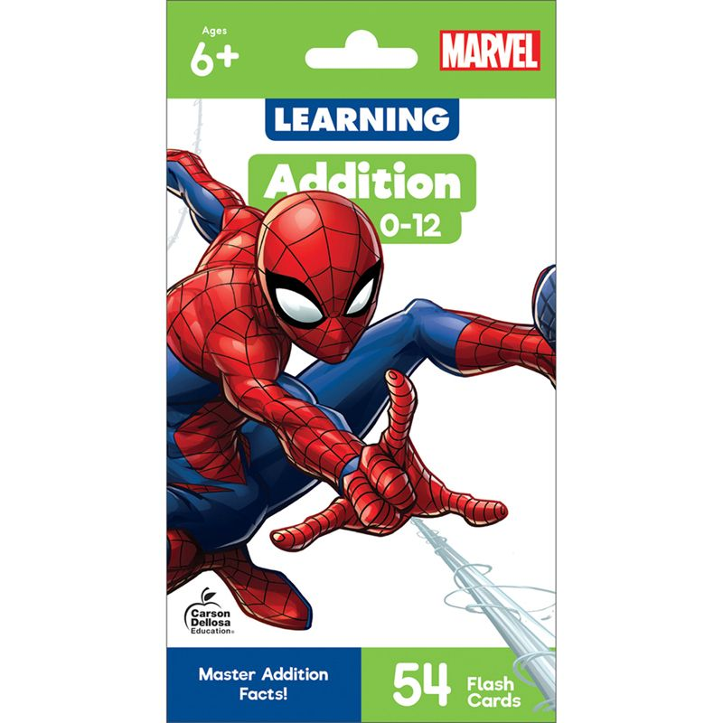 Marvel Addition 0-12 Flash Cards