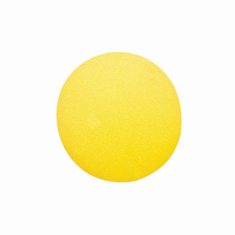 Foam Ball 4 Uncoated Yellow